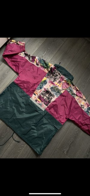 Retro Windbreaker Regenjacke