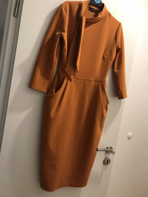 Pencil Dress light orange