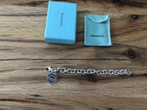 Return to Tiffany Charm-Armband mit Herzanhänger
