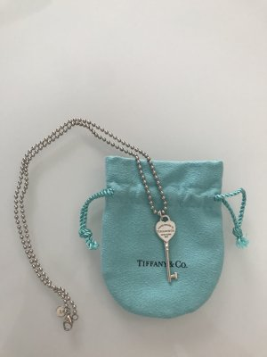 Return to Tiffany Herzschlüssel-Anhänger und Kugelkette