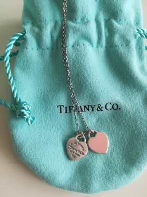 Tiffany&Co Silver Chain pink