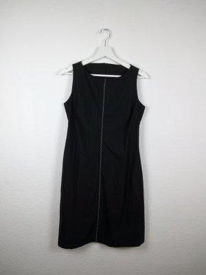 reuker hp etuikleid kleid S 38 minimal schwarz designer fashion