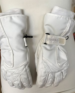 Reusch Gloves white mixture fibre