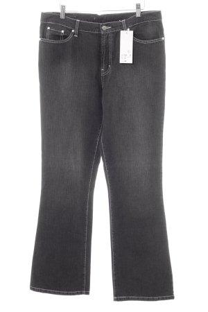Revanche in Fashion Jeans met rechte pijpen donkergrijs casual uitstraling