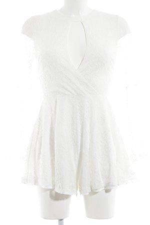 Reverse Combinaison blanc style décontracté