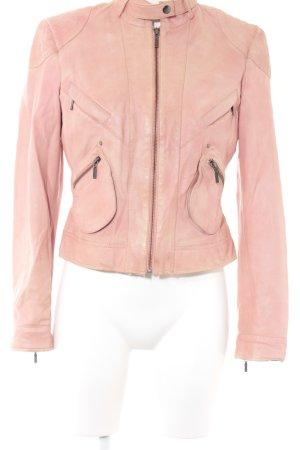 Reverso Lederjacke rosa Casual-Look