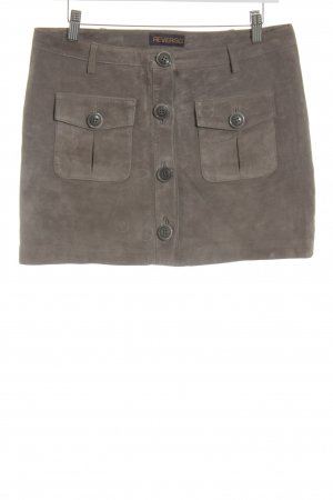 Reverso Minirock taupe Party-Look
