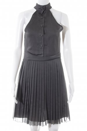 Review A-Linien Kleid dunkelgrau Elegant