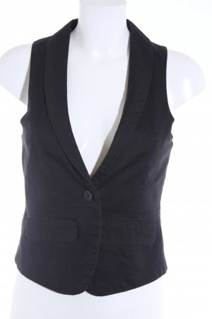 Review Waistcoat black business style