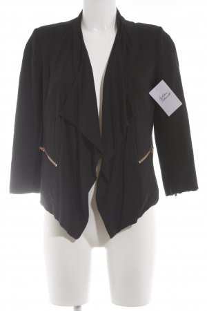 Review Cardigan schwarz Business-Look