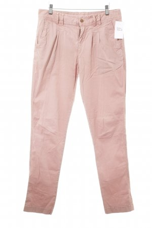 Review Chinos dusky pink casual look