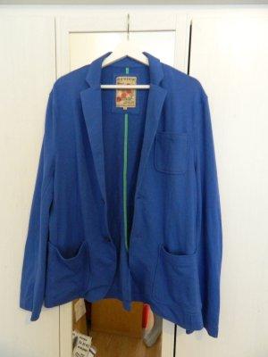 Review Damen Blazer Jacke Strick XL 44 *NEU* blau baumwolle