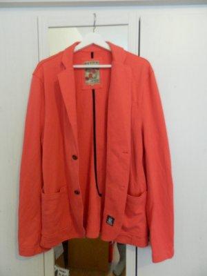 Review Damen Blazer Jacke Strick XL 44 *NEU* pink baumwolle