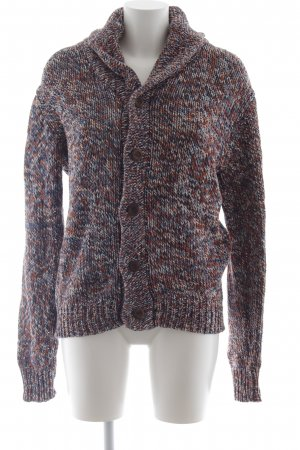 Review Coarse Knitted Jacket flecked Boho look
