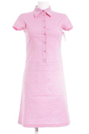 Review Hemdblusenkleid pink Casual-Look