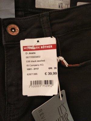 Review High Waist Jeans schwarz Damen Gr. 26(34) mit Etikett und ungetragen!