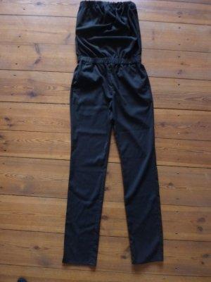 REVIEW Hosenanzug/ Jumpsuit, schwarz, Gr. 34/ xs, Bandeau