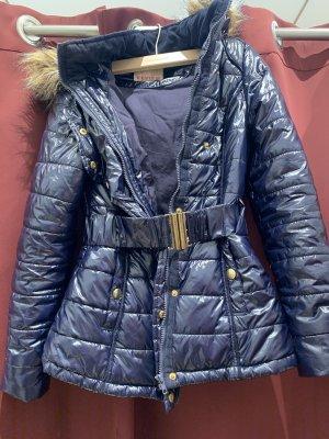 Review Down Jacket dark blue
