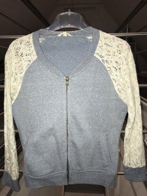 Review Shirt Jacket blue-cream