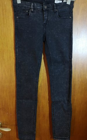 REVIEW Jeans Minnie Skinny – Schwarz-meliert