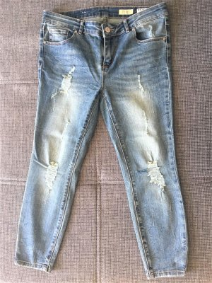 Review 3/4 Length Jeans cornflower blue