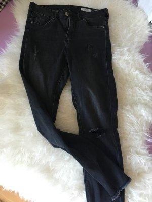 Review jeanshose dunkelgrau