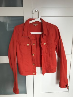 Review Jeansjacke in Rot