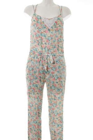 Review Jumpsuit Blumenmuster Beach-Look