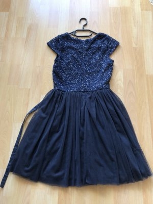 Review Ball Dress dark blue-blue