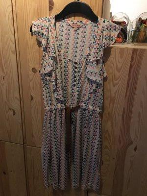 REVIEW Kleid bunt mit Gürtel
