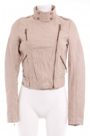 Review Kunstlederjacke nude Casual-Look