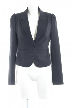 Review Kurz-Blazer dunkelblau Business-Look