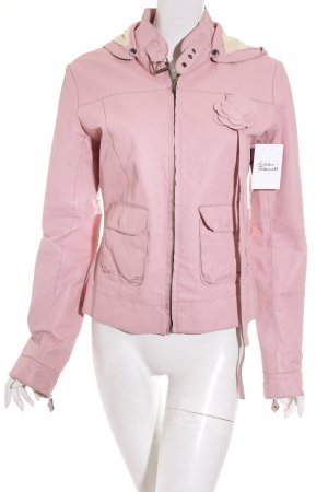 Review Lederjacke rosa Biker-Look