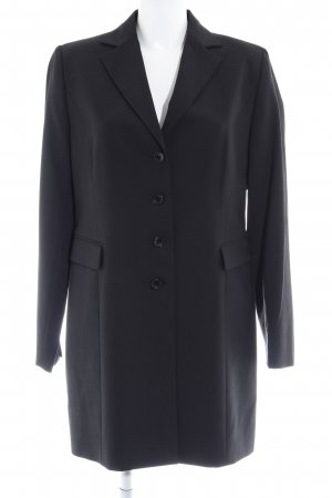 Review Long-Blazer schwarz Business-Look