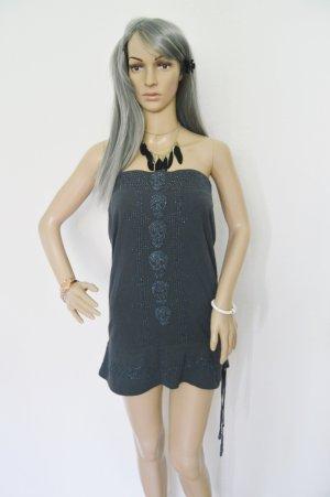 Review Mini Kleid Totenkopf Perlen gr.M