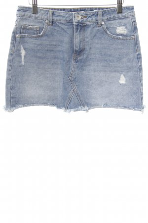 Review Minirock blau Casual-Look