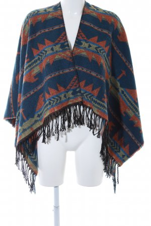 Review Poncho Aztekenmuster Casual-Look