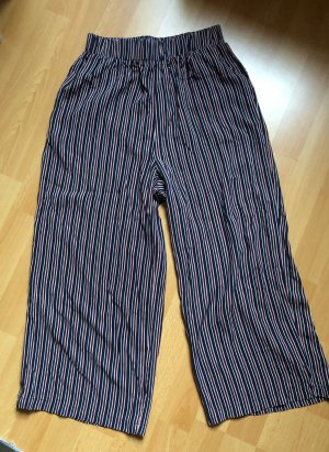 Review Stoffhose gestreift XS