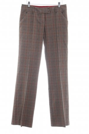 Review Stoffhose Glencheckmuster Brit-Look