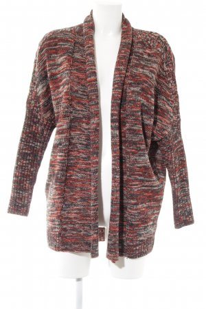Review Strickjacke meliert Casual-Look
