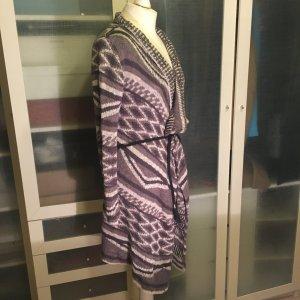 Review Manteau en tricot noir-gris foncé