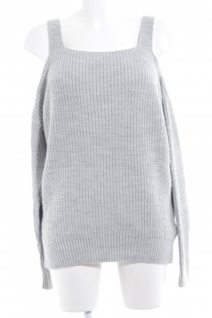 Review Strickpullover hellgrau Casual-Look