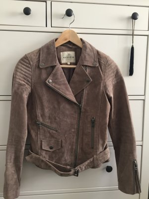 Review Suede Leather Jacket