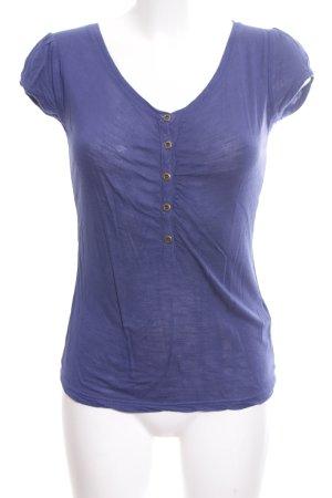 Review T-Shirt blau Casual-Look
