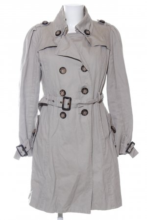 Review Trenchcoat hellgrau Business-Look