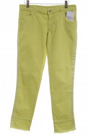 REVIVED Pence Low Rise Jeans neon yellow street-fashion look