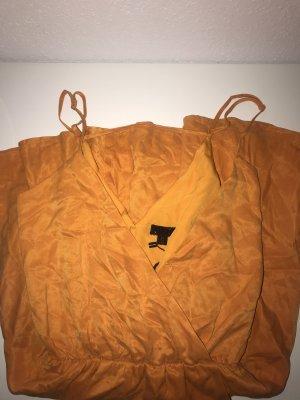 Revolve Midi Dress yellow-gold orange