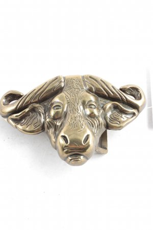 RH Belt Buckle gold-colored extravagant style