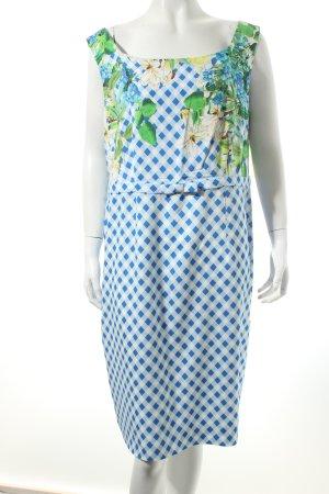 Riani A-Linien Kleid Blumenmuster Schleifen-Detail