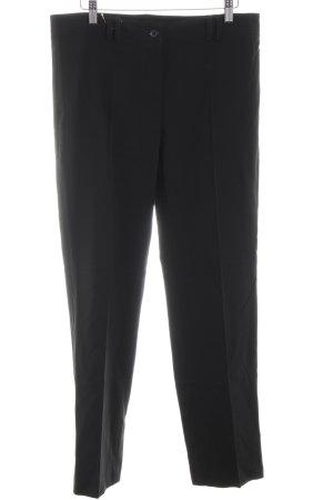 Riani Pantalone da abito nero stile professionale